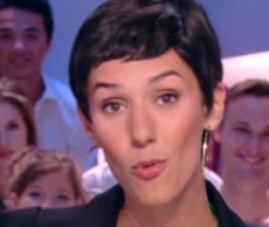Doria Tillier transformée en Cristina Cordula dans Le Grand Journal de Canal +, le 12 juin 2014