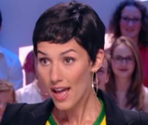 Doria Tillier parfaite en Cristina Cordula dans Le Grand Journal du 12 juin 2014