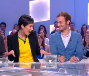 Doria Tillier magnifaïk en Cristina Cordula dans Le Grand Journal de Canal +