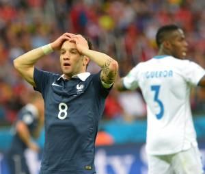 Mondial 2014 : Mathieu Valbuena pendant France/Honduras