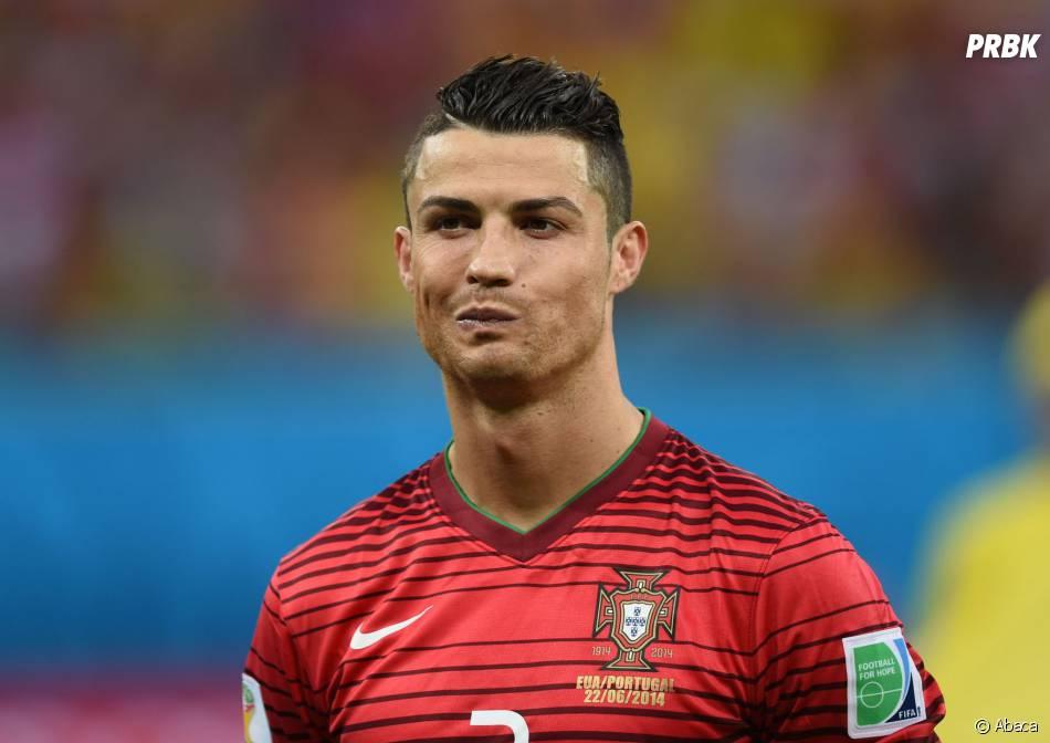 Cristiano ronaldo au mondial 2014 pendant portugal vs for Coupe de cheveux cristiano ronaldo 2013