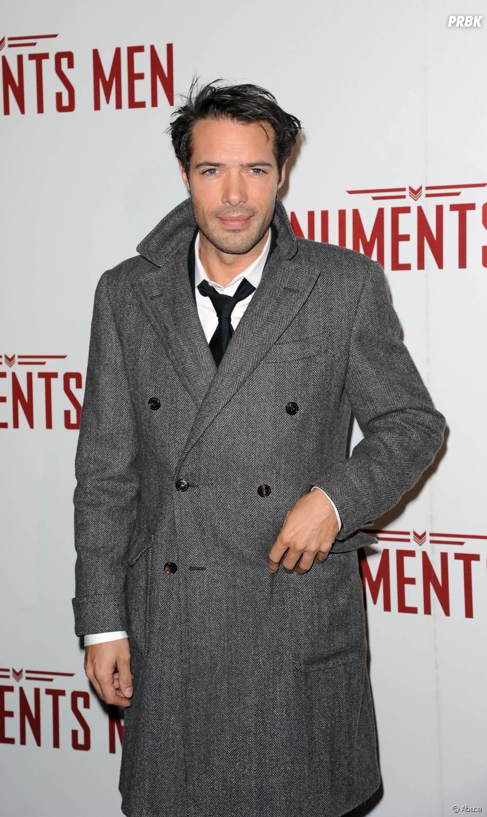 Nicolas Bedos à l'avant-première du film Monuments Men