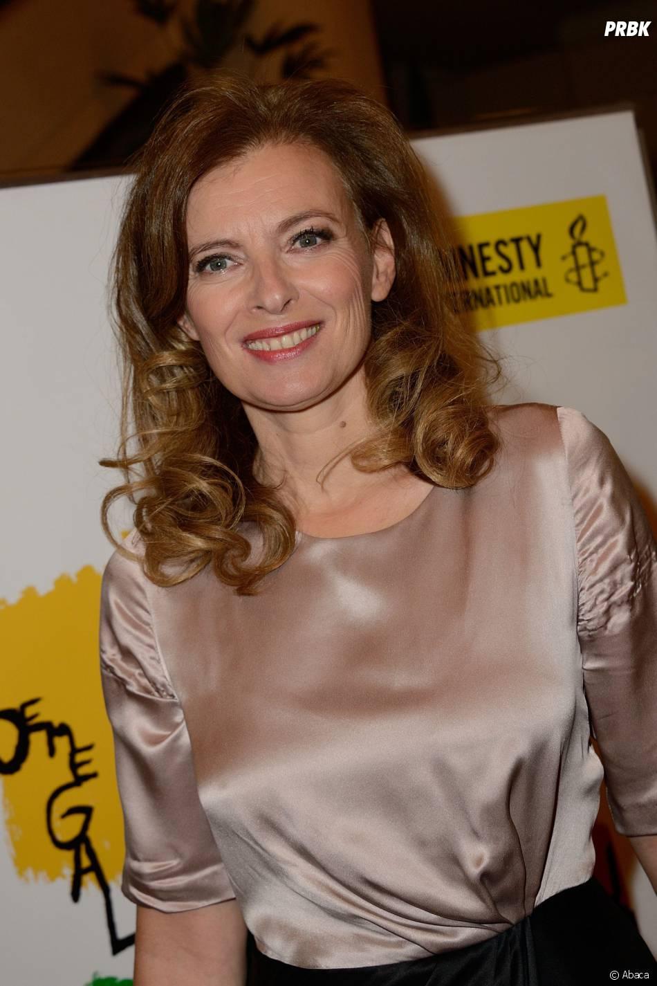 """Valérie Trierweiler au gala """"Musique contre l'oubli"""", le 2 juillet 2014 à Paris"""