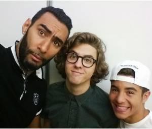 La Fouine, Thomas Solivérès et Samy Seghir en mode selfie pour PureBreak