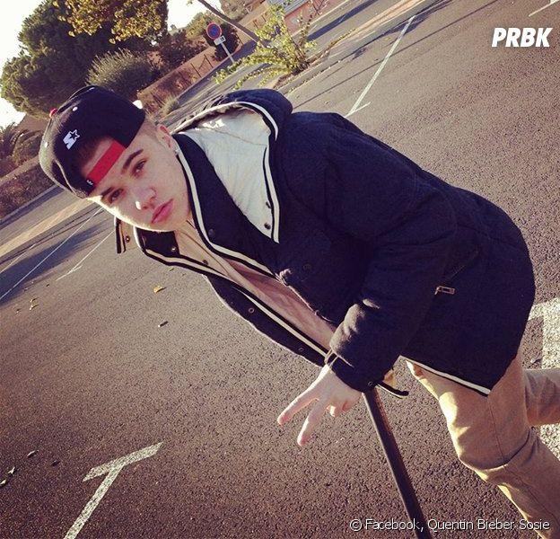 Quentin Bieber ne veut plus être le sosie français de Justin Bieber
