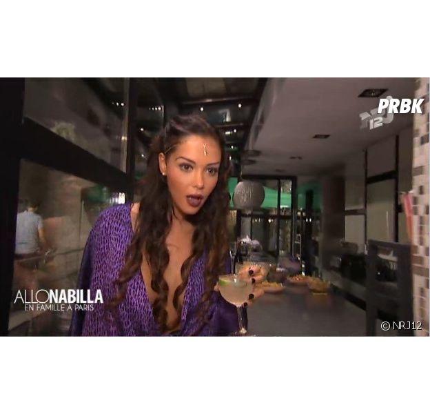 Nabilla Benattia, en robe sexy Jean-Paul Gaultier dans le 3e épisode de la saison 2 d'Allo Nabilla