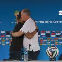 Neymar s'incruste en conf de presse après la lourde défaite du Brésil