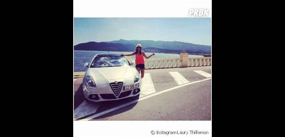 Laury Thilleman : road trip en Italie, au mois de juillet 2014