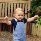 Prince George : nouvelle photo officielle trop chou avant son 1er anniversaire
