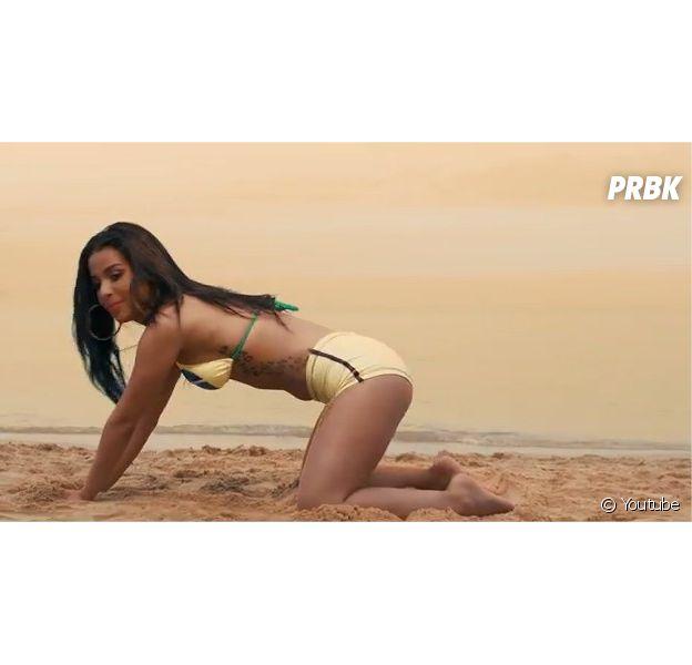 Emilia Cheranti, star sexy du clip Pegale de DJ Erise