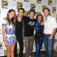 Nina Dobrev, Paul Wesley... : le cast de Vampire Diaries sur le tapis rouge du Comic-Con 2014 à San Diego