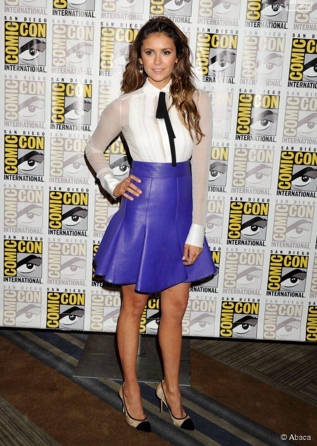 Nina Dobrev sexy pendant le Comic Con 2014