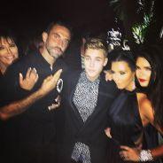Kim Kardashian presque nue sur Instagram avant une soirée avec Justin Bieber