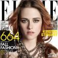 Kristen Stewart en Une du numéro de septembre 2014 du magazine Elle USA