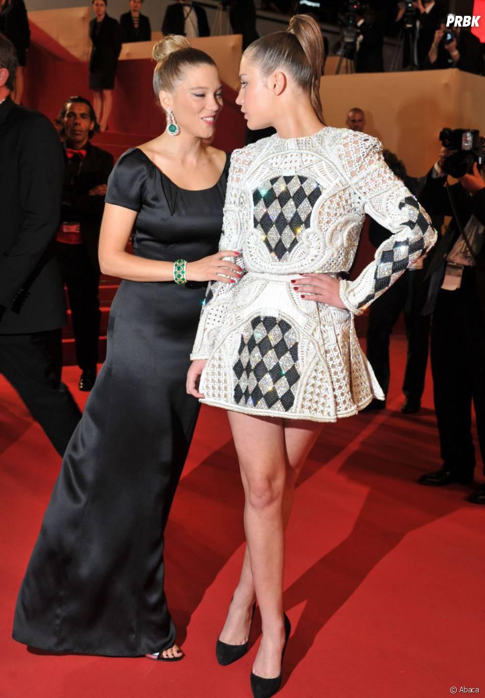 Léa Seydoux - ici avec Adèle Exarchopoulos - pourrait rejoindre le casting de James Bond 24
