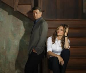 Castle saison 6 : Stana Katic et Nathan Fillion
