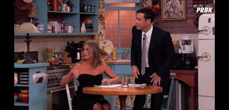 Friends : Jennifer Aniston dans un sketch délirant