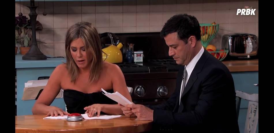Friends : Jennifer Aniston et Jimmy Kimmel