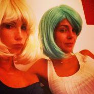 Marine Lorphelin et Alexandra Rosenfeld : alerte aux couleurs de cheveux flashy