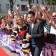 Les présentateurs de La France a un incroyable talent lors des auditions le 8 septembre 2014