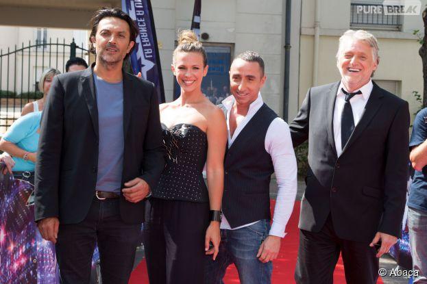 Le jury de La France a un incroyable talent lors des auditions le 8 septembre 2014