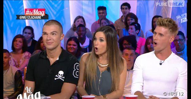 Capucine Anav et Benoît Dubois clashés par Zelko dans le Mag de NRJ 12
