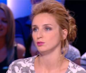 Alison Wheeler présente la météo de Canal+ le 9 septembre 2014