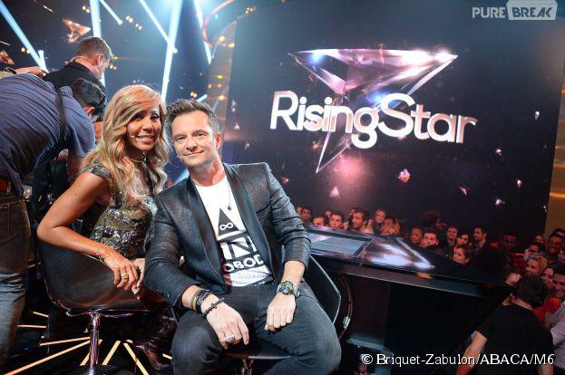 Cathy Guetta et David Hallyday Rising Star Cathy Guetta et