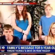 Des enfants envoient un message touchant à la fillette qui a tué leur père