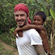 David Beckham, aventurier touchant et toujours sexy en Amazonie