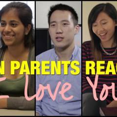 """Voici comment les parents asiatiques réagissent à un """"je t'aime"""" de leur enfant"""