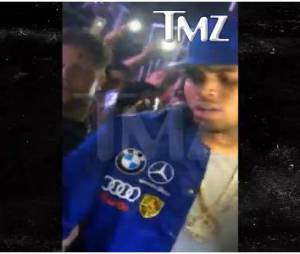 Chris Brown face à une fan alcoolisée