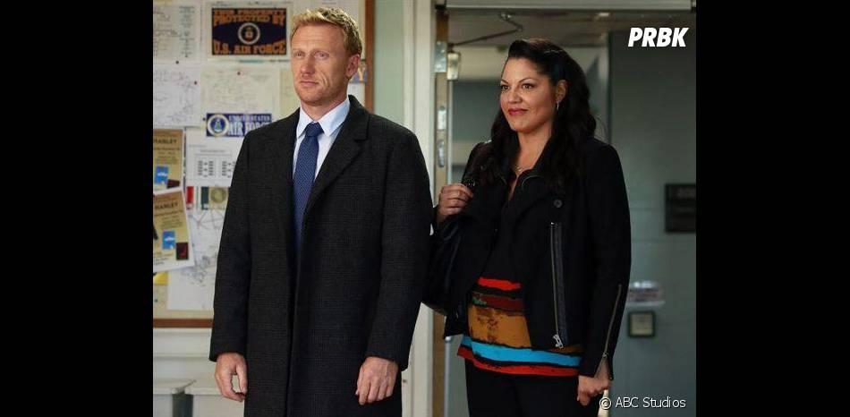 Grey's Anatomy saison 11, épisode 3 : Kevin McKidd et Sara Ramirez sur une photo