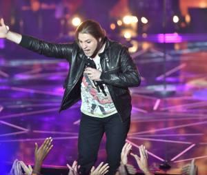 Rising Star : Jordan Chevallier sur le plateau de l'émission, le 10 octobre 2014
