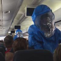 Ebola : un avion bloqué au sol après la mauvaise blague d'un touriste