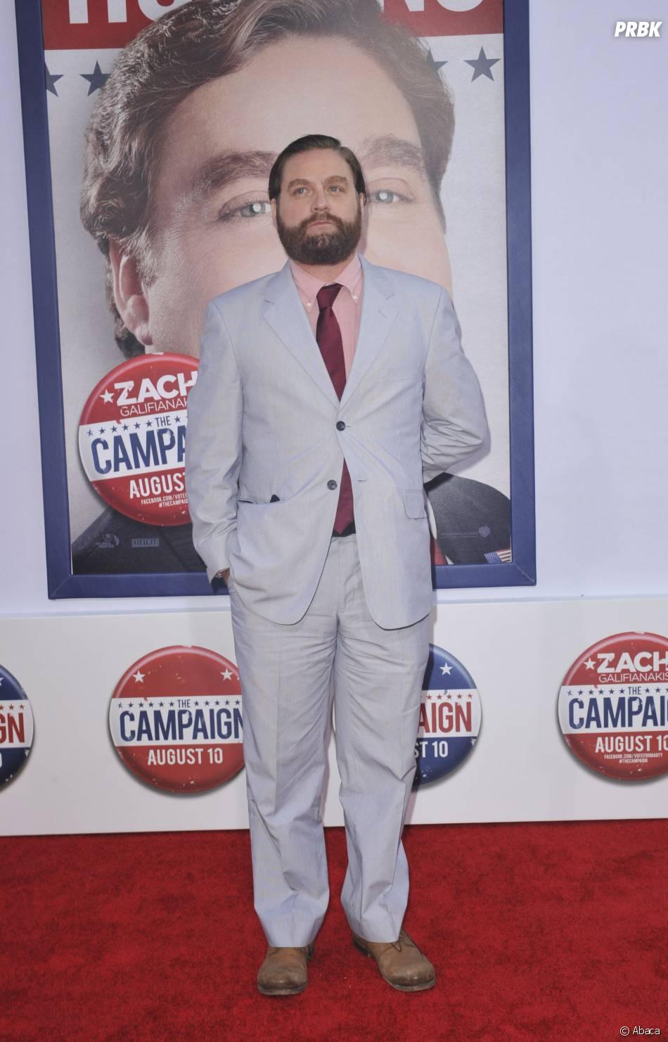 Zach Galifianakis en 2013 à une avant-première de Moi député