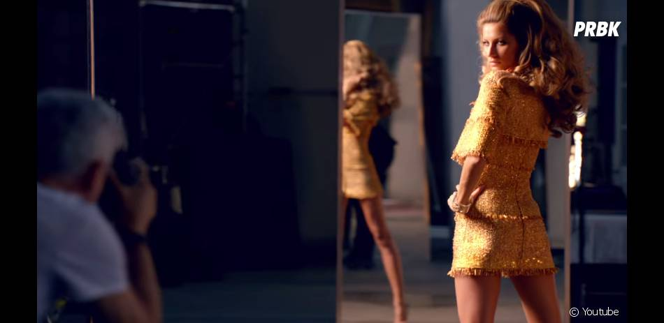 Gisele Bündchen dans une nouvelle publicité pour Chanel 5