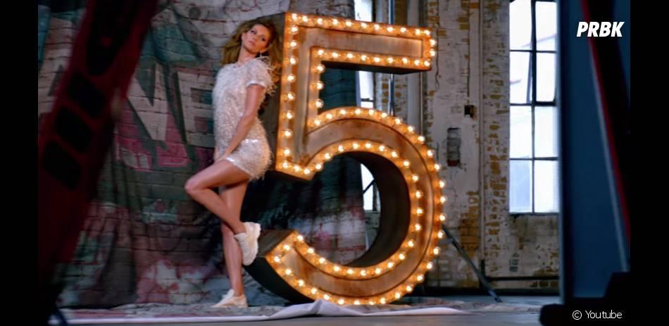 Gisele Bündchen : publicité sexy pour Chanel 5