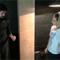 Miguel Angel Munoz blessé : Nathalie Péchalat s'inquiète pour son genou