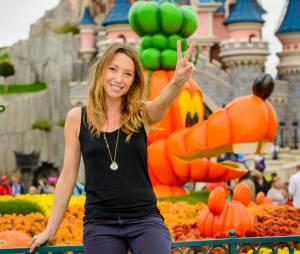 Laura Smet fête Halloween à Disneyland ce jeudi 23 octobre