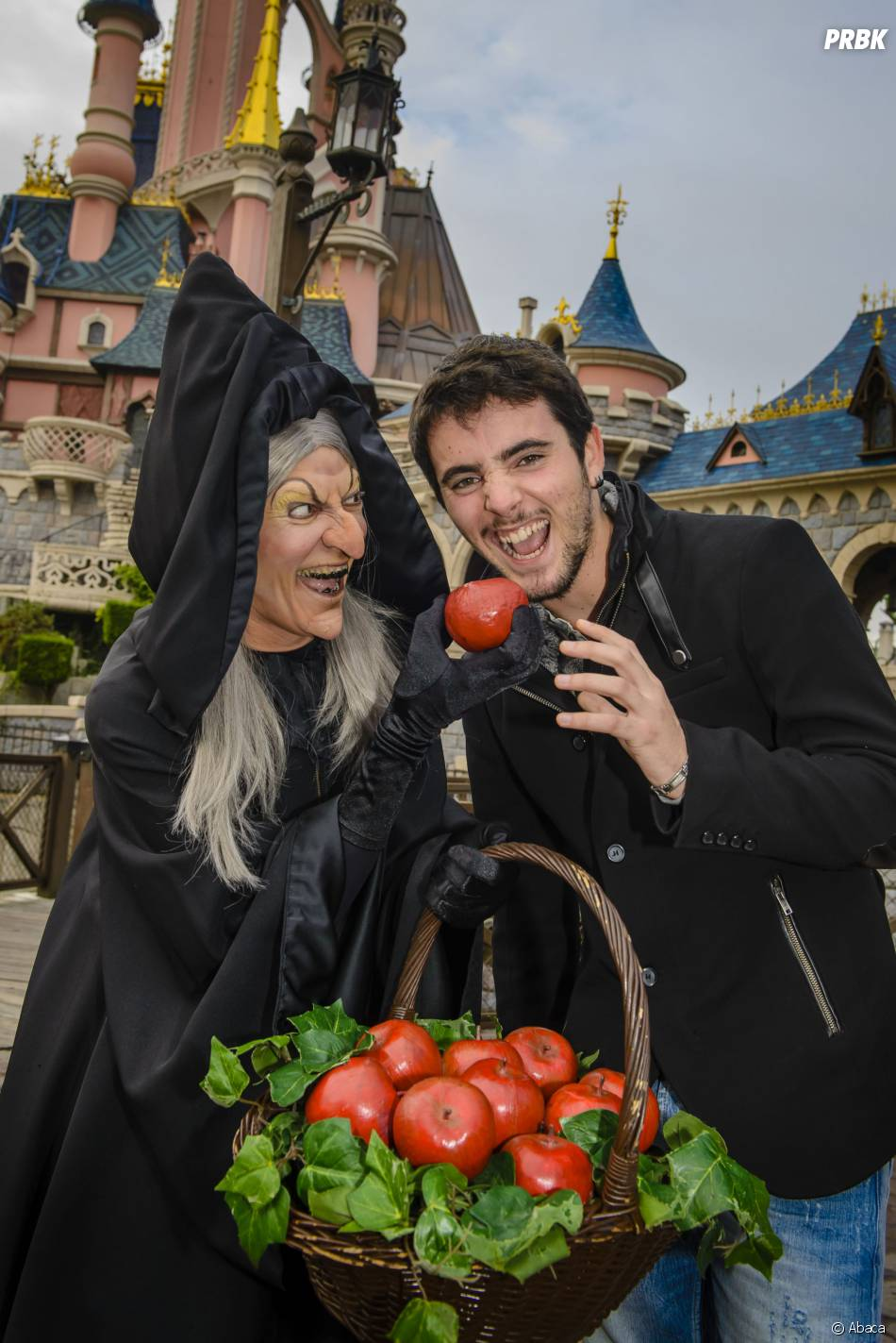 Louis Delort fête Halloween à Disneyland