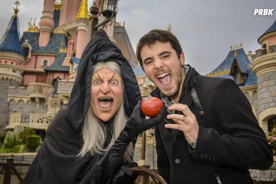 Louis Delort fête Halloween à Disneyland ce jeudi 23 octobre