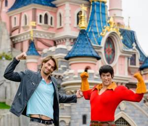 Camille Lacourt fête Halloween à Disneyland