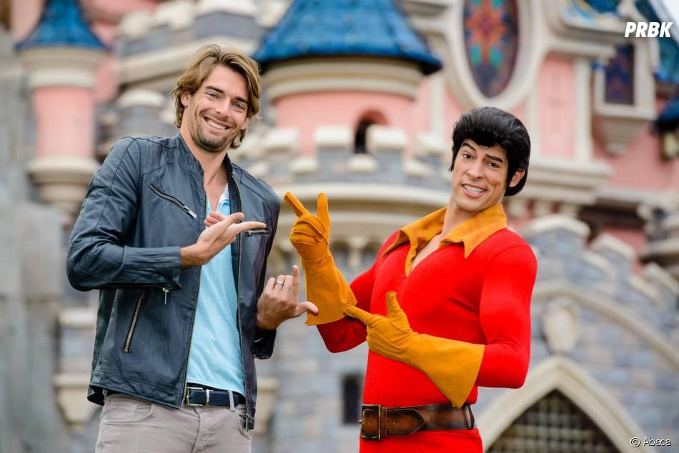 Camille Lacourt fête Halloween à Disneyland ce jeudi 23 octobre