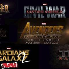 Captain America 3, Avengers 3, Thor 3... Marvel dévoile les dates de sortie