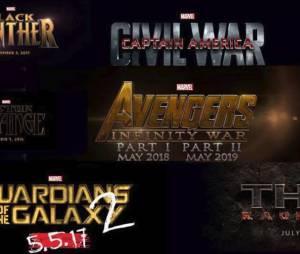 Captain America 3, Les Gardiens de la Galaxie 2, Thor 3, Black Panther... Marvel dévoile ses nouveaux films à venir