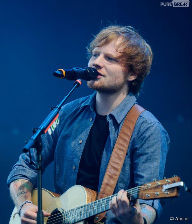 Ed Sheeran proche de ses fans