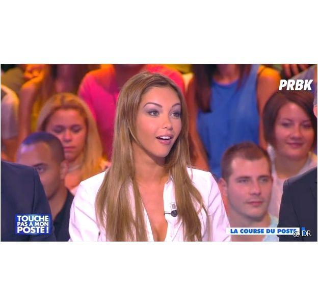 Nabilla Benattia dans TPMP sur D8 le 24 septembre 2014