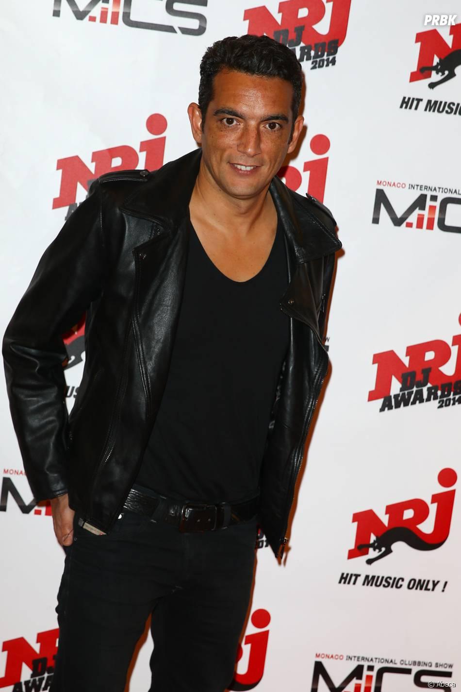 Antoine Clamaran à la cérémonie des NRJ DJ Awards 2014 à Monaco, le 12 novembre 2014