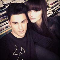 Baptiste Giabiconi et Kendall Jenner : duo sexy avec la soeur de Kim Kardashian